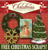 free Christmas scrapbooking supplies