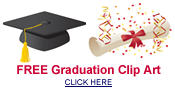 free graduation clip art