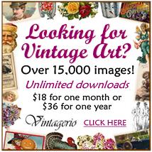 Vintagerio vintage clip art