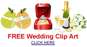 Free engagement, bridal shower and wedding clip art